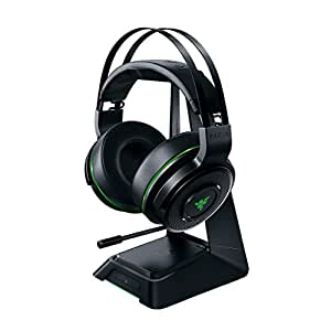 Razer Thresher Ultimate for Xbox One: Dolby 7.1 Surround Sound - Lag-Free Wireless Connection - Retractable Digital Microphone-Base Station Wireless Receiver - Gaming Headset Works with PC & Xbox One