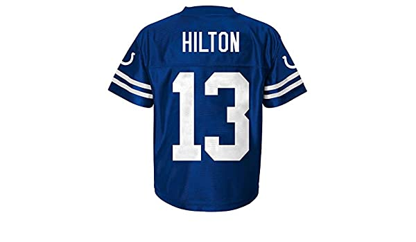 0b962c02b Amazon.com   Outerstuff T.Y. Hilton Indianapolis Colts  13 Blue Toddler  Home Player Jersey   Sports   Outdoors