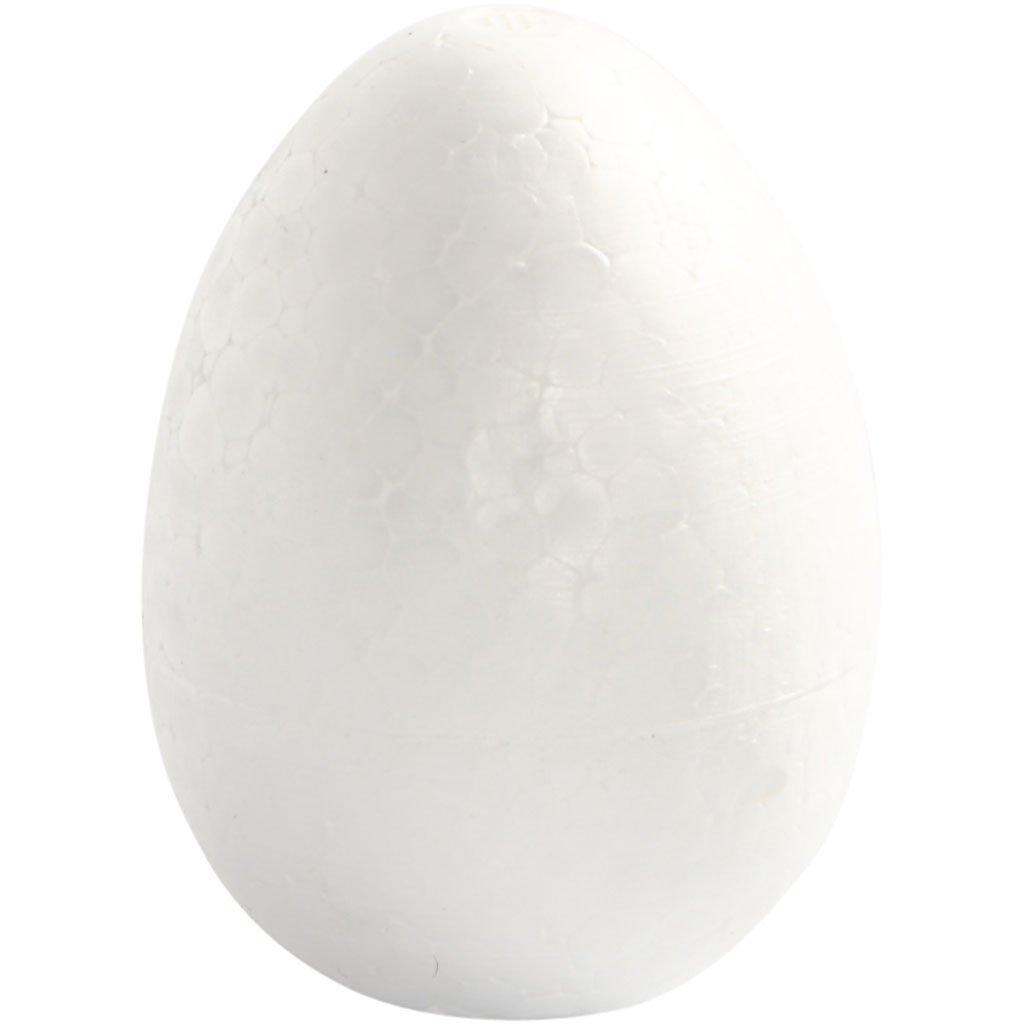 Uova, H: 8 cm, polistirolo, 5pz Creativ Company