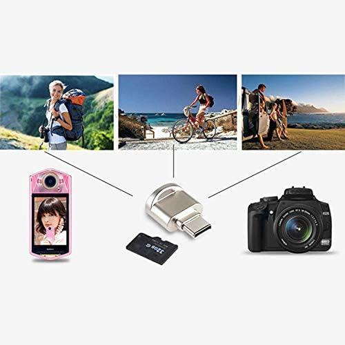 Orcbee/_Mini Type C Micro SD TF Memory Card Reader OTG Adapter USB 3.1 Portable