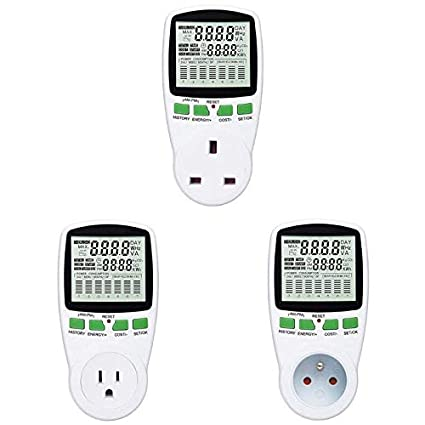 AC Power Meter 220v Digital Wattmeter Energy Monitor Electricity Consumption
