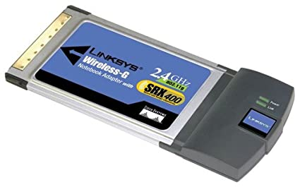 DOWNLOAD DRIVER: LINKSYS WIRELESS-G NOTEBOOK ADAPTER WITH SRX