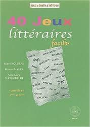Jeux littéraires 6e, 5e