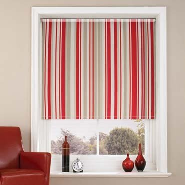 Red Roller Blinds Mallow Red Roller Blind Amazon Co Uk Kitchen