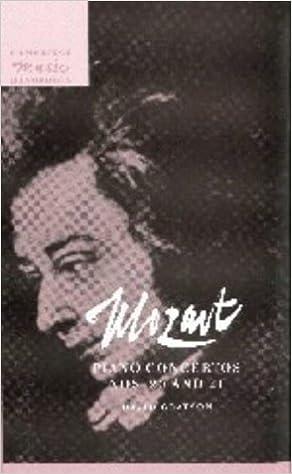 Book Mozart: Piano Concertos Nos. 20 and 21 (Cambridge Music Handbooks)