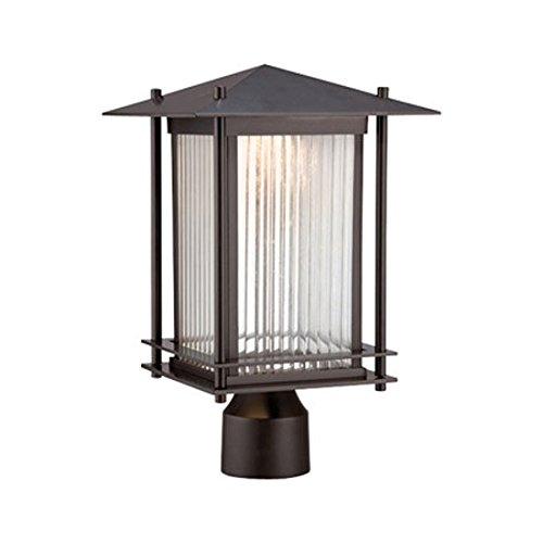 Designers Fountain LED32536-BNB Hadley 9 Inch Led Post Lantern by Designers Fountain