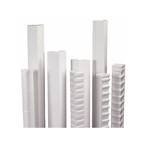Box Packaging Foam Edge Protector, 24'' x 3'' x 3'' 1- Case of 50 by Box Packaging