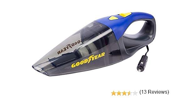 GOOD YEAR GOD2110 Aspirador para Coche 12V y Cable de 4 Metros sin Bolsa. Potencia 90W. Goodyear: Amazon.es: Coche y moto