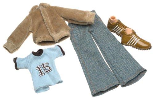 Bratz Boyz: Phys. Ed Funk Fashion Pack (Blue T-Shirt, Jacket, pants and shoes)
