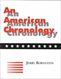 img - for An American Chronology book / textbook / text book