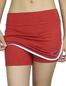 Womens ARKANSAS RAZORBACKS Athletic Yoga / Fitness Skort (Skirt / Shorts) S WomensRed