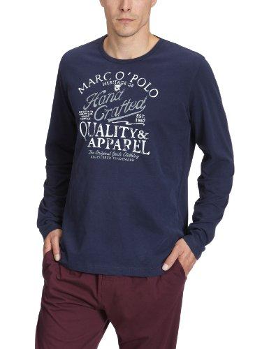 Marc O' Polo Bodywear Herren Schlafshirt 870878, Gr. 56 (XXL), Blau (5683)