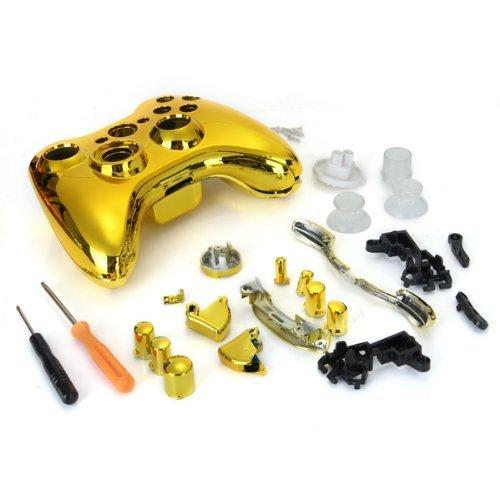 Amazon.com: abcGoodefg® Golden Chrome Full Housing Shell ...