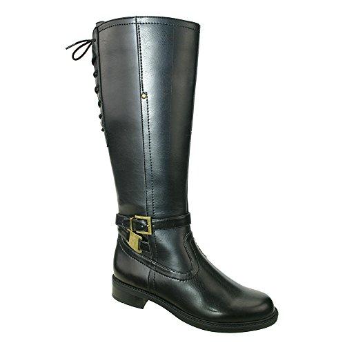 David Tate Womens Valley 18 Boot Black Pu