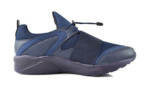 CAPRIUM Men's Loafer Flats Dark Blue c8ylTbixv