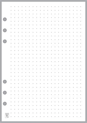 (A5 Size Dot Grid Paper Refill (0.25