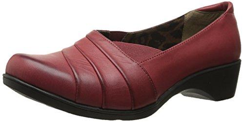 Mjuk Stil Hush Puppies Kvinna Kambra Slip-on Loafer Röd