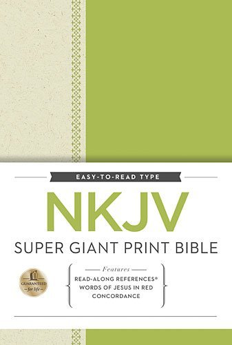 Download NKJV Super Giant Print Reference Bible by Thomas Nelson