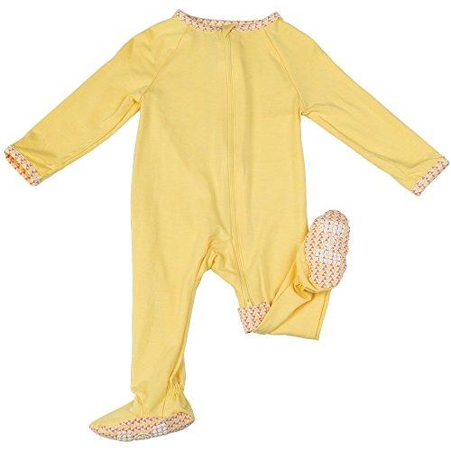 Lark Adventurewear Premium Baby Girl Boy Cotton Bamboo Zip Footed (Unique Kids Pajamas)
