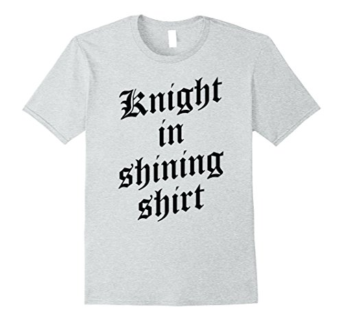 Mens Renaissance Faire Costume - Knight in Shining Shirt 2XL Heather (Mens Knight In Shining Armor Costumes)
