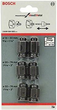 Bosch 2 608 584 682 - Set de 6 adaptadores de transición - - (pack de 6)