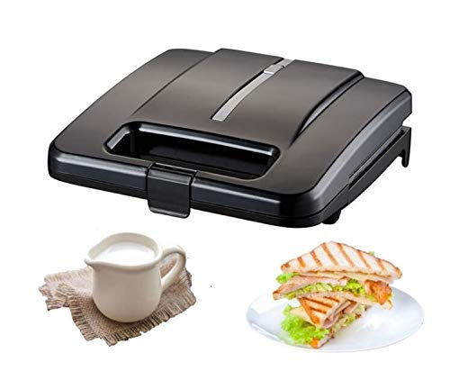 Lowest Price! Sandwich Maker, Sandwich Toaster 750-Watts, Sandwich Press With Non-stick Coating Elec...