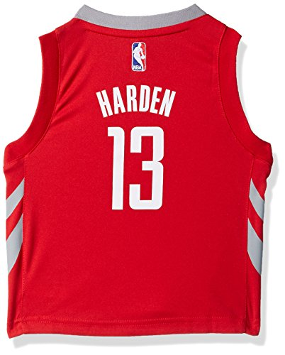 Outerstuff NBA Houston Rockets Children Boys Replica Road Player Jersey, 2T, Red