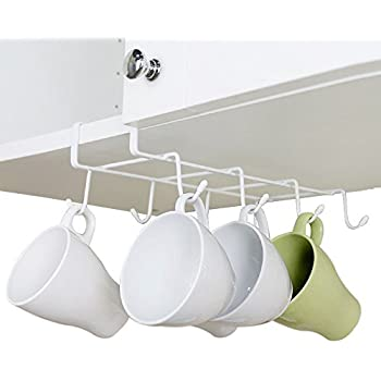 Amazon.com - GeLive Under Cabinet Mug Holder Hook Drying Rack ...