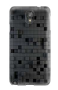 Unique Design Galaxy Note 3 Durable Tpu Case Cover Rendering Texture Light