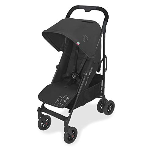 Maclaren Techno arc Stroller – lightweight, compact, Black/Black