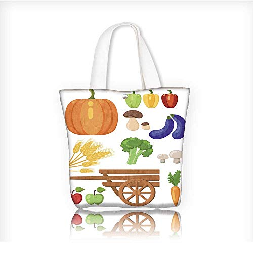 shopping bagfolding shopping bagHarvest festival Harvest fruits and vegetables Autumn Collection of elements 12
