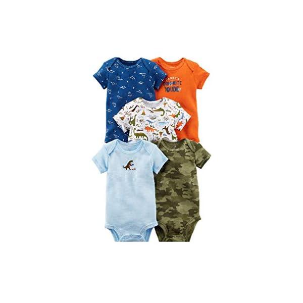 Kerrian Online Fashions 410WKzE5IwL 5-Pack Baby Clothing Cotton All Seasons Short-Sleeve Original Bodysuits