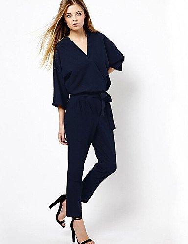 GSP-Damen Jumpsuits - Sexy Langarm Andere Mikro-elastisch