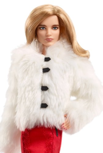 CHX13 NATALIA VODIANOVA Russia Super Model Barbie Doll MINT Box 2017