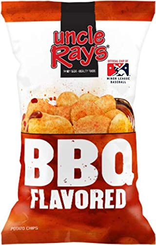 (Uncle Ray's BBQ Potato Chips - 3 oz. Bag - 12 Pack)