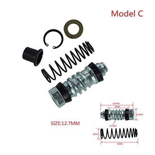 1 Unidades Motocicleta Bomba de Freno de Embrague 14 mm 12.7 mm 11 mm Kits de reparación del émbolo del pistón Aparejos del Cilindro Maestro Reparación de ...