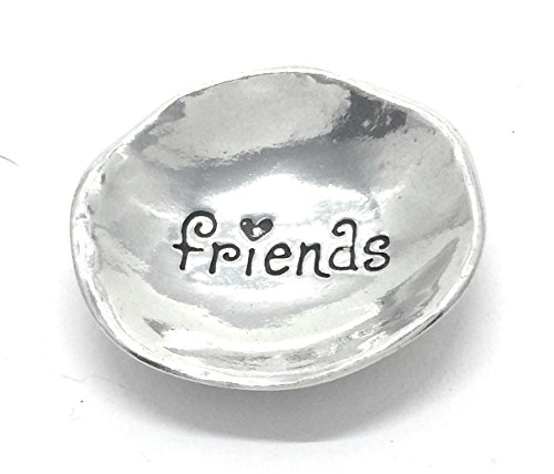 Friends Pewter Trinket Dish