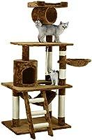 Go Pet Club Condo para gato F68, marrón, 157 cm