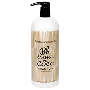 Bumble and Bumble Creme de Coco Shampoo, 33.8-Ounce Pump Bottle