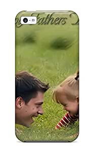 Forever Collectibles Independence Happy Fathers Day Cell Phone Hard Snap-on for ipod Touch 4 Case