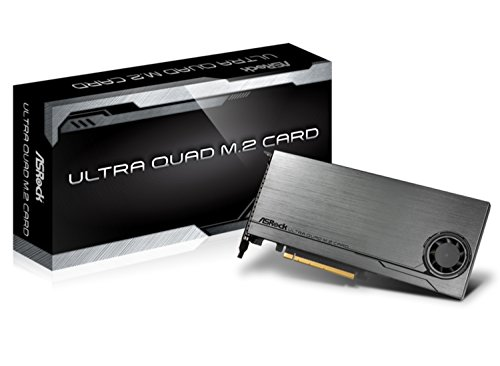 - ASROCK M. 2 SSD Upgrade Board Ultra Quad M. 2 Card