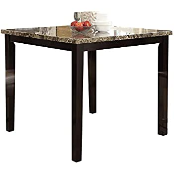Amazon Com Benzara Bm171296 Wooden High Table With Faux