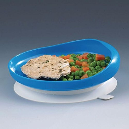 Sammons Scooper Plate with Suction Cup Base-Each by Sammons Preston