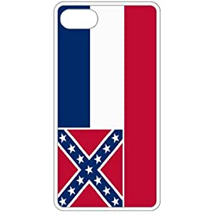 Mississippi MS State Flag White Apple Iphone 4 - Iphone 4s Cell Phone Case - Cover