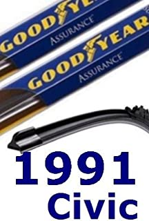 product image for 1991 Honda Civic Replacement Windshield Wiper (3 Blades)