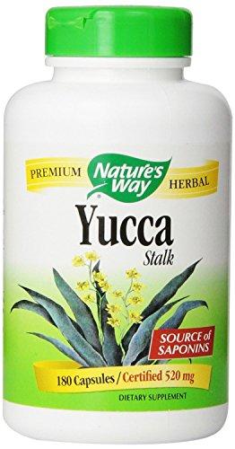 Nature's Way Yucca Stalk, 180 Capsules (Pack of 2)