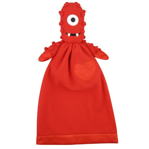 Yo Gabba Gabba Plush Muno Lovie Security Blanket]()
