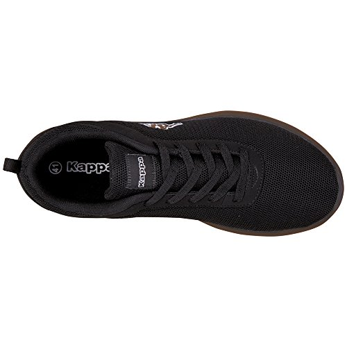 Kappa Stone - Zapatillas Unisex adulto Negro - Schwarz (1111 Black)