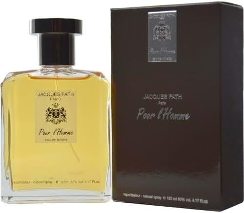 Jacques Fath Pour L'homme Eau de Toilette Spray, 4.2 Ounce