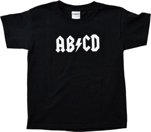 "Ann Arbor T-shirt Co. Big Boys' ""AB/CD"" 